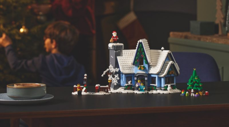 LEGO for Adults 10293 Santas Visit featured 6