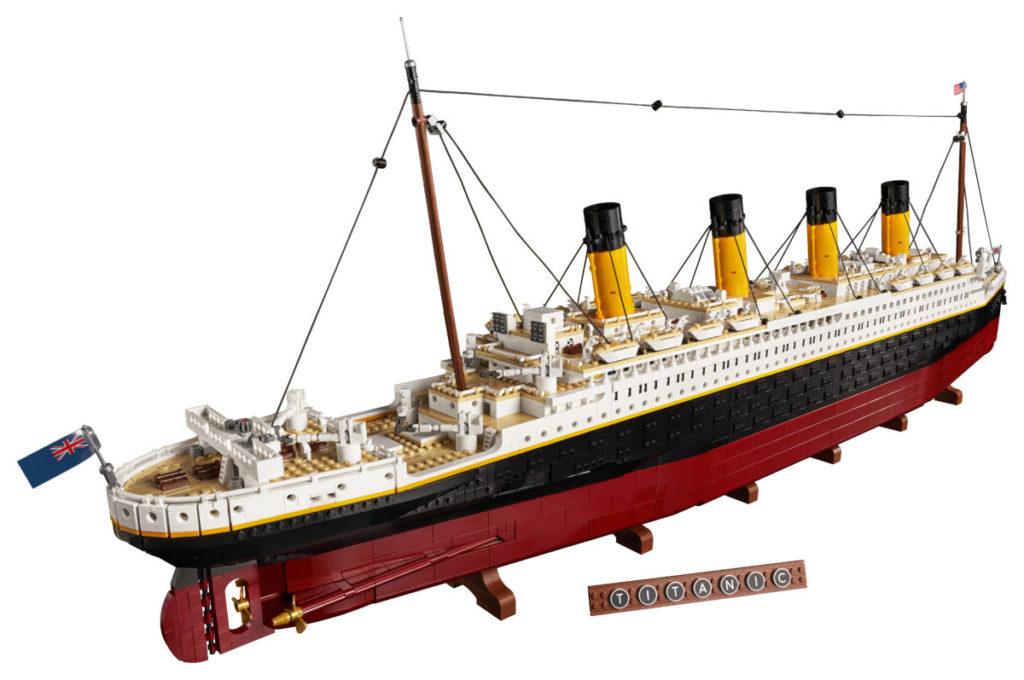 LEGO for Adults 10294 Titanic 3