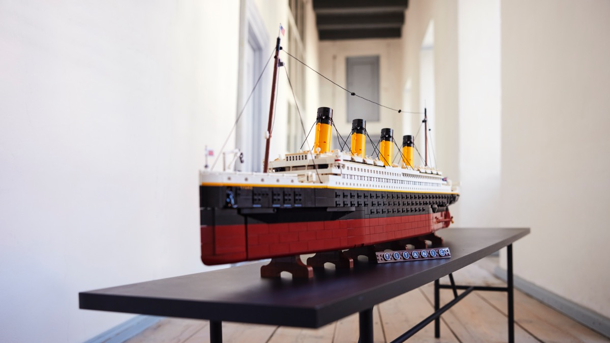 LEGO For Adults 10294 Titanic Featured 2