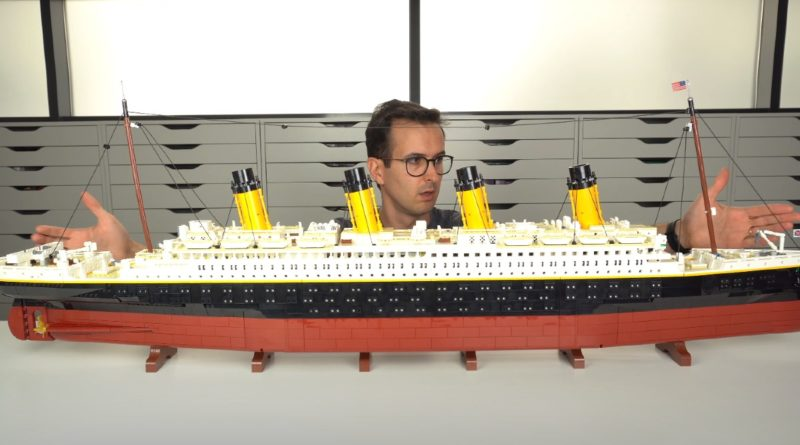 LEGO for Adults 10294 Titanic first look featured