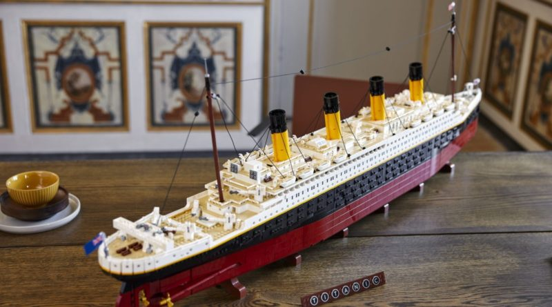 LEGO for Adults 10294 Titanic lifestyle table featured