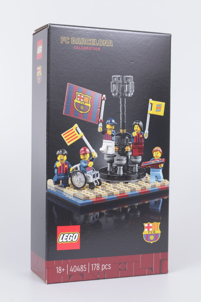 LEGO for Adults 40485 FC Barcelona Celebration gift with purchase review 1