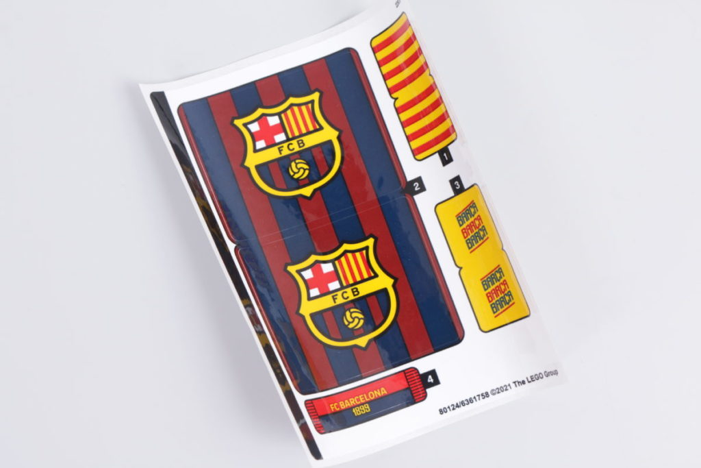 LEGO for Adults 40485 FC Barcelona Celebration gift with purchase review 10