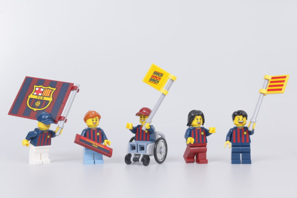 LEGO for Adults 40485 FC Barcelona Celebration gift with purchase review 11