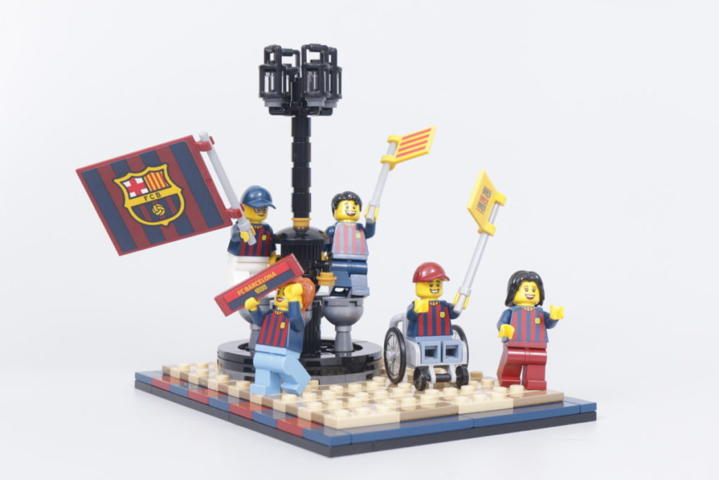 LEGO for Adults 40485 FC Barcelona Celebration gift with purchase review 18
