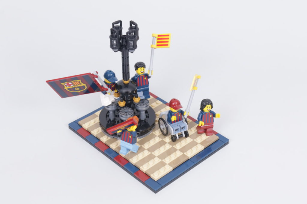 LEGO for Adults 40485 FC Barcelona Celebration gift with purchase review 19