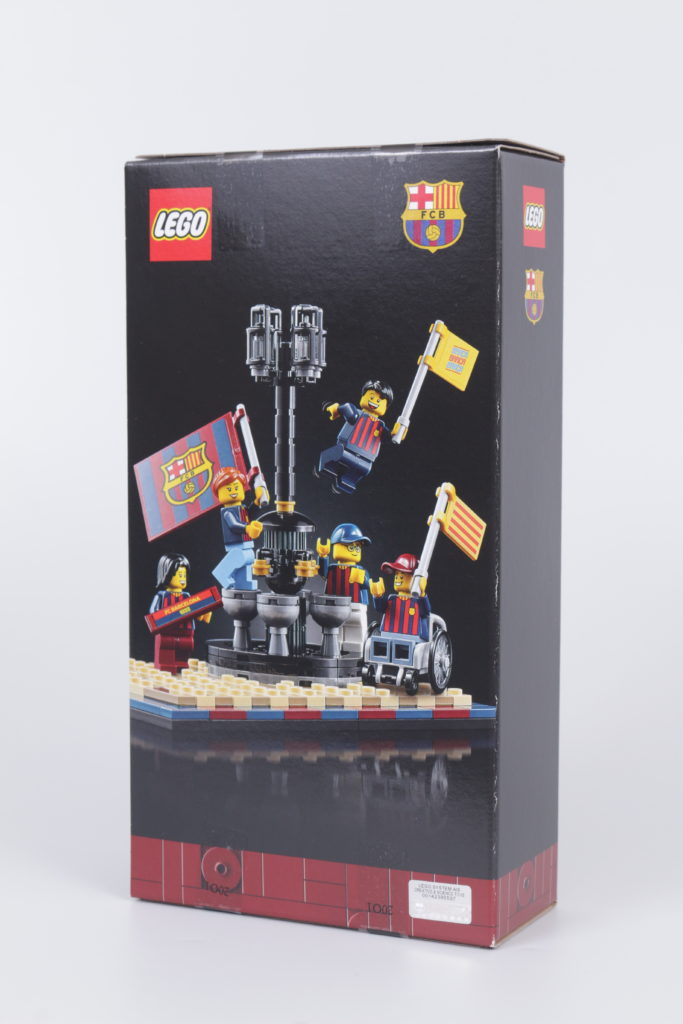 LEGO for Adults 40485 FC Barcelona Celebration gift with purchase review 2