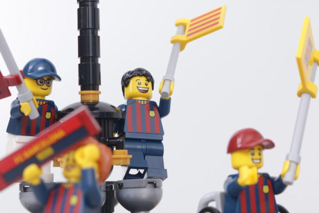 LEGO for Adults 40485 FC Barcelona Celebration gift with purchase review 21