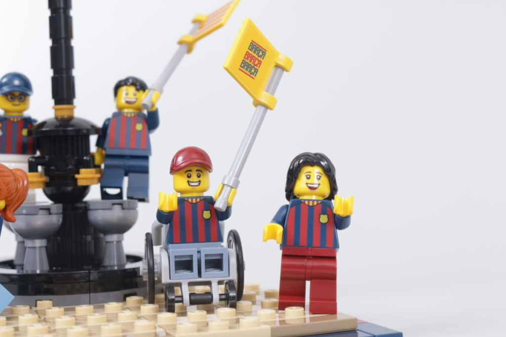 LEGO for Adults 40485 FC Barcelona Celebration gift with purchase review 23