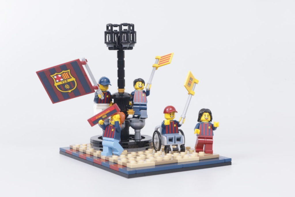 LEGO for Adults 40485 FC Barcelona Celebration gift with purchase review 25