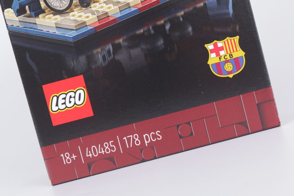 LEGO for Adults 40485 FC Barcelona Celebration gift with purchase review 4
