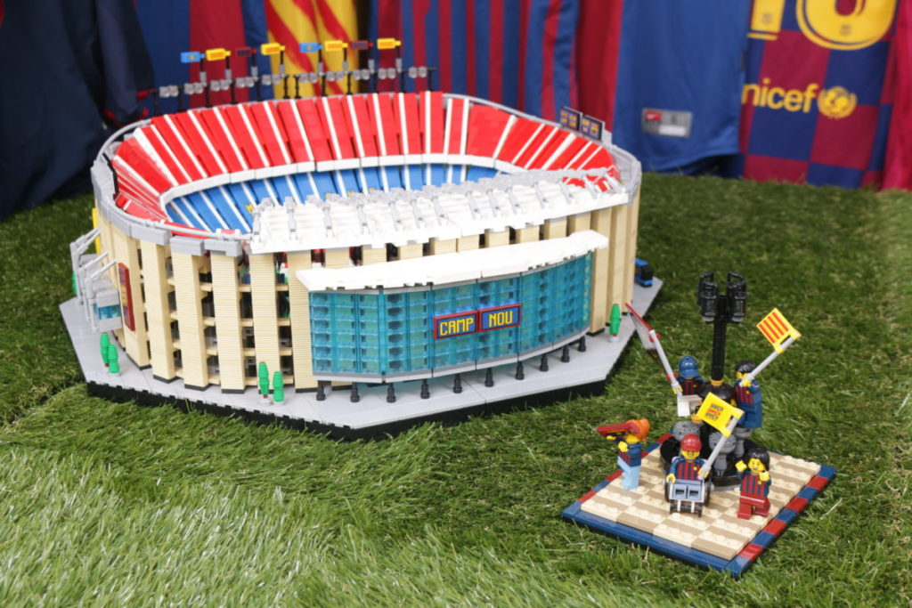 LEGO for Adults 40485 FC Barcelona Celebration gift with purchase review 41
