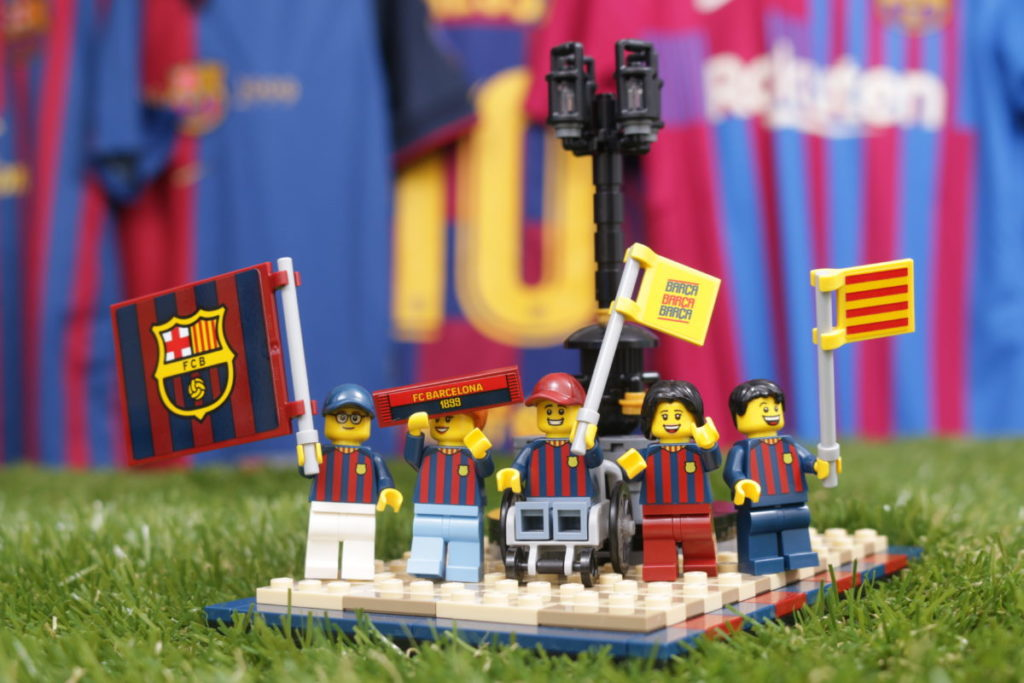 LEGO for Adults 40485 FC Barcelona Celebration gift with purchase review 43