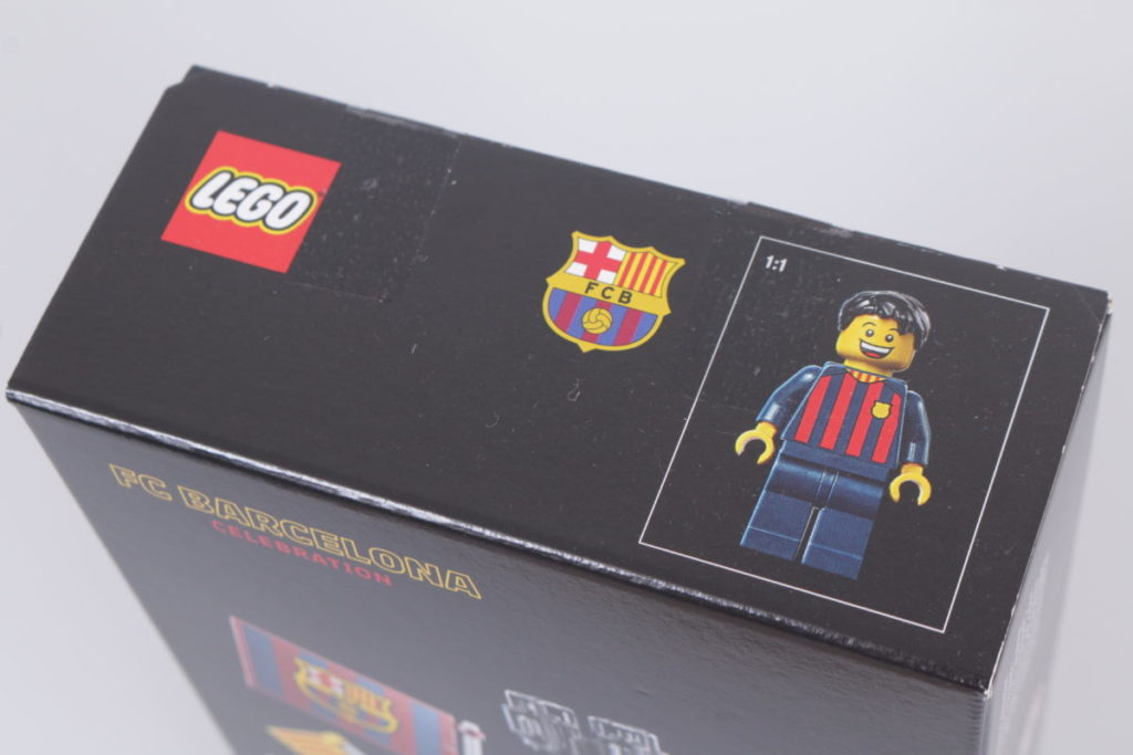 LEGO for Adults 40485 FC Barcelona Celebration gift with purchase review 6