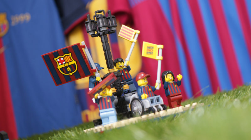 LEGO for Adults 40485 FC Barcelona Celebration gift with purchase review title 1