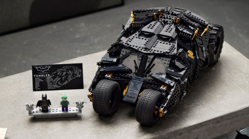 LEGO for Adults 76240 Batmobile Tumbler lifestyle 2 featured