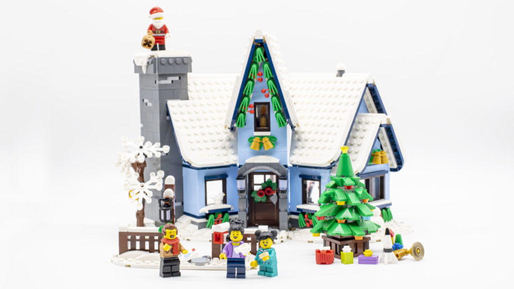 LEGO for adults 10293 Santas Visit 1 2
