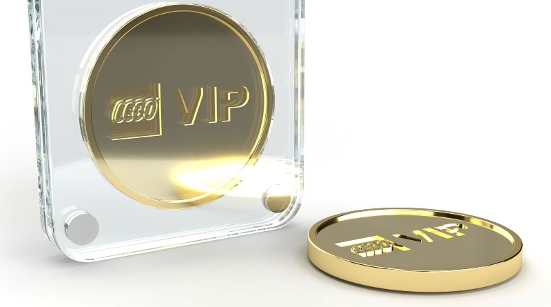 LEGO Gold VIP Coin Featured