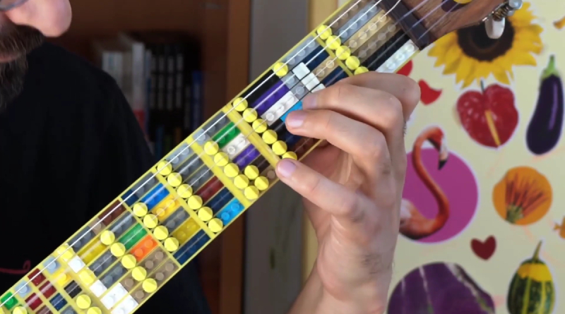 LEGO Guitar Featured