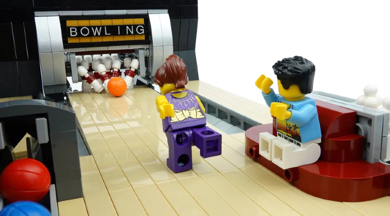 LEGO Ideas Bowling Alley Featured