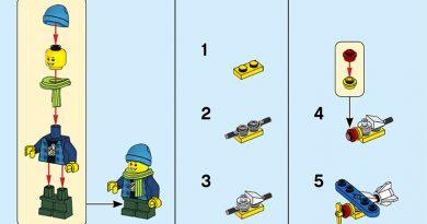 LEGO instruction book