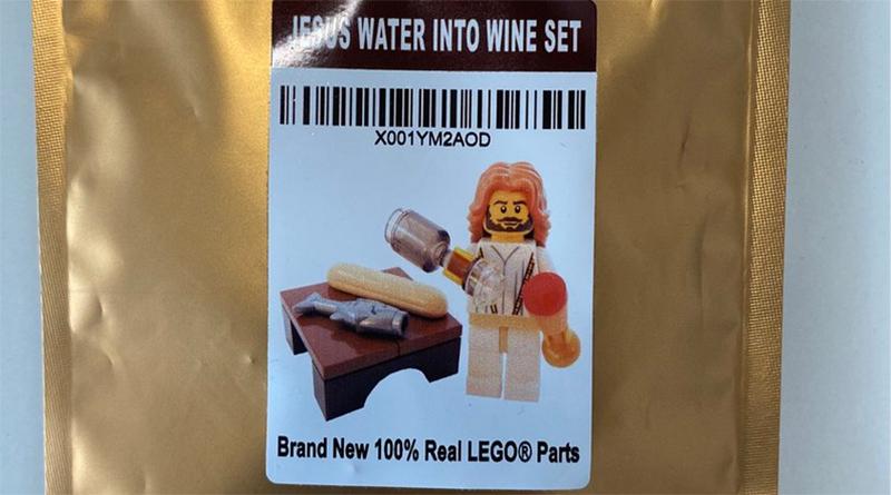 LEGO Jesus Kanye West Tweet Featured