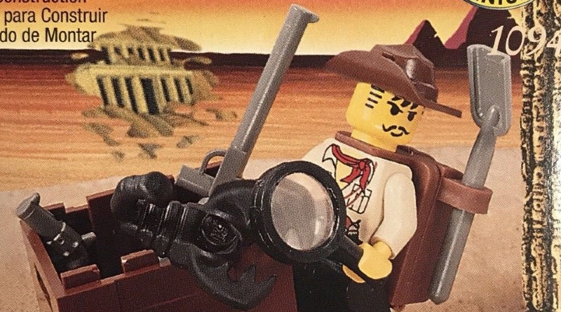 LEGO Johnny Thunder Featured