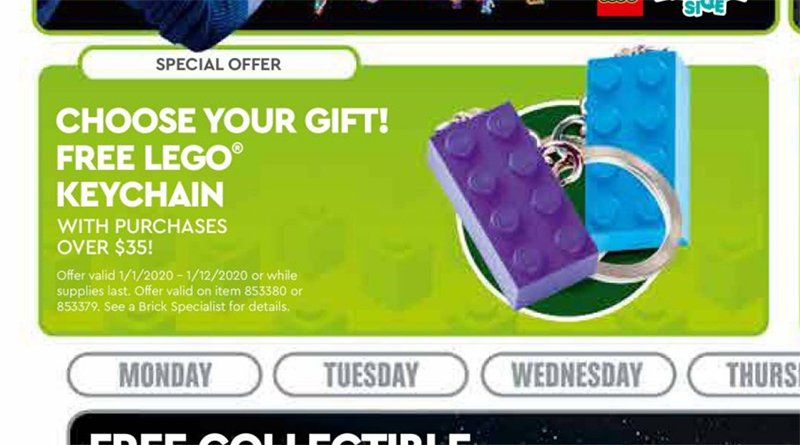 LEGO Keychains Promo Featured 800 445