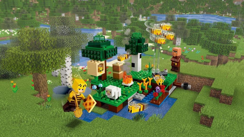 LEGO MInecraft 21165 The Bee Farm 3