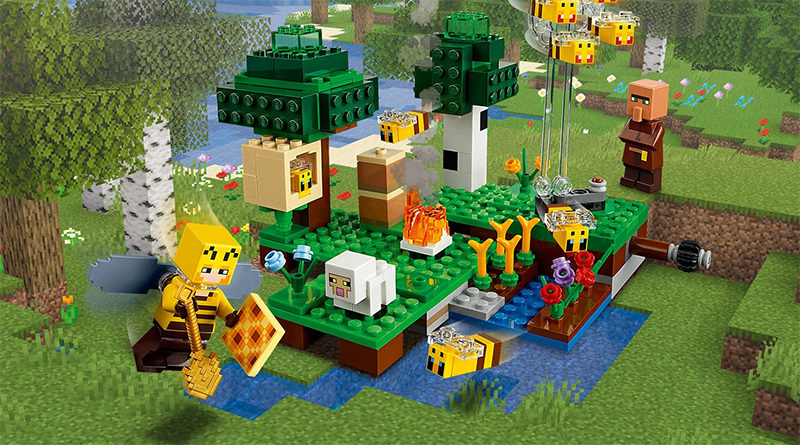 LEGO MInecraft 21165 The Bee Farm Featured 800x445