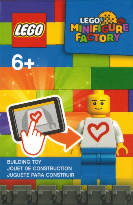 LEGO 854067 Minifigure Factory box revealed