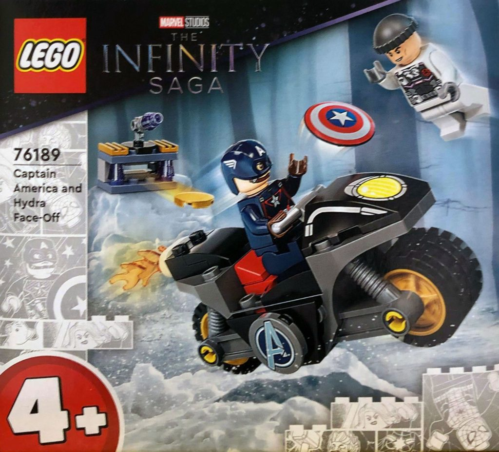 LEGO marvel 76189 Captain America and Hydra Face Off