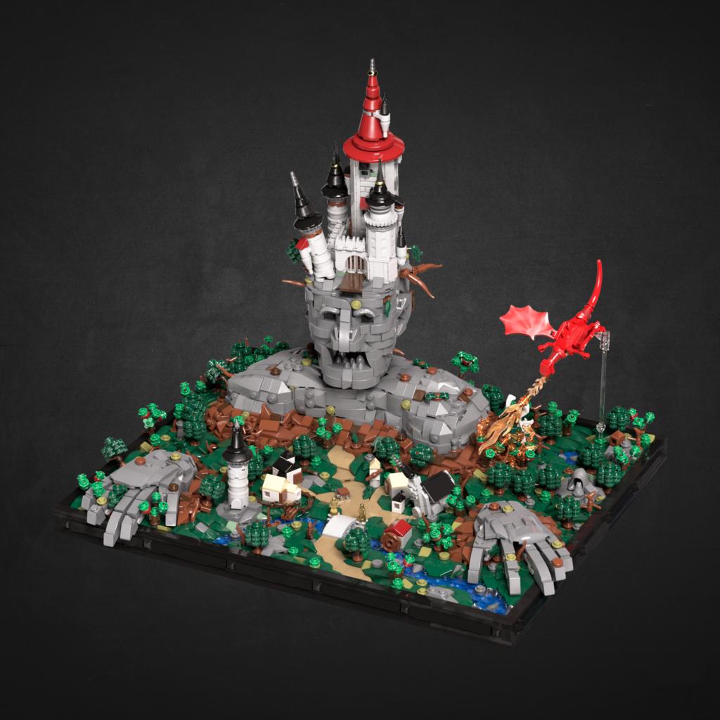 LEGO microscale display not micro