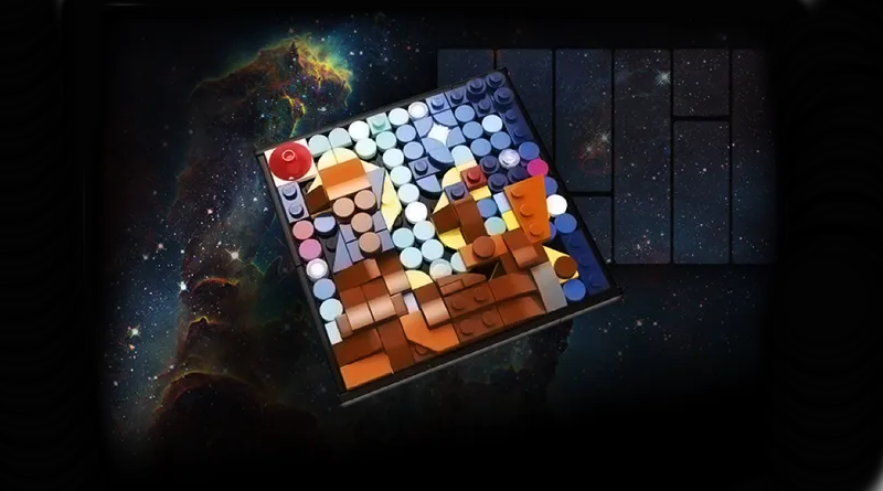 LEGO Miniature Hubble Artwork Featured
