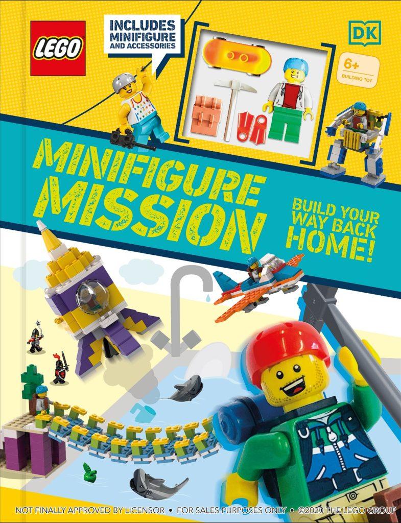 LEGO Minifigure Mission Book Cover