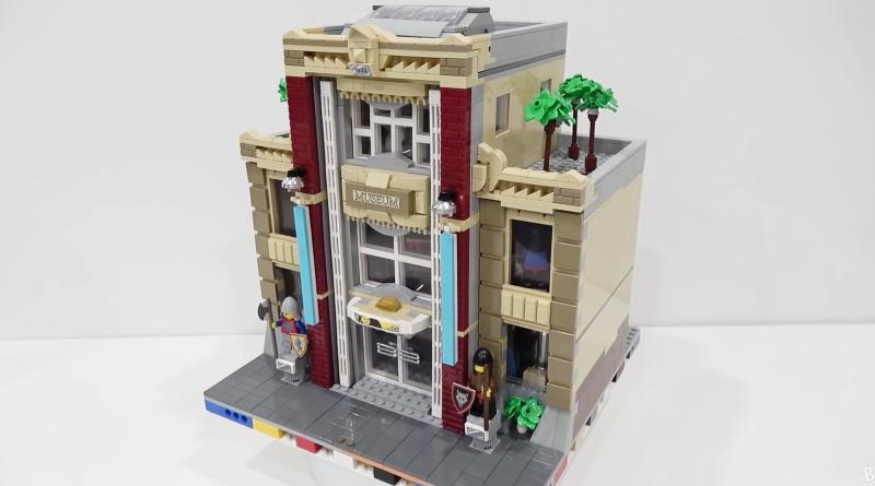 LEGO Modular Museum Build Featured