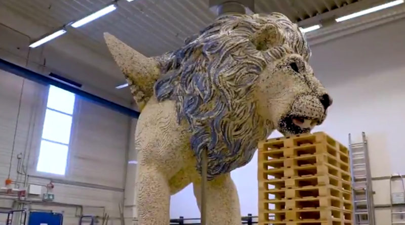 LEGO mythica sky lion featured