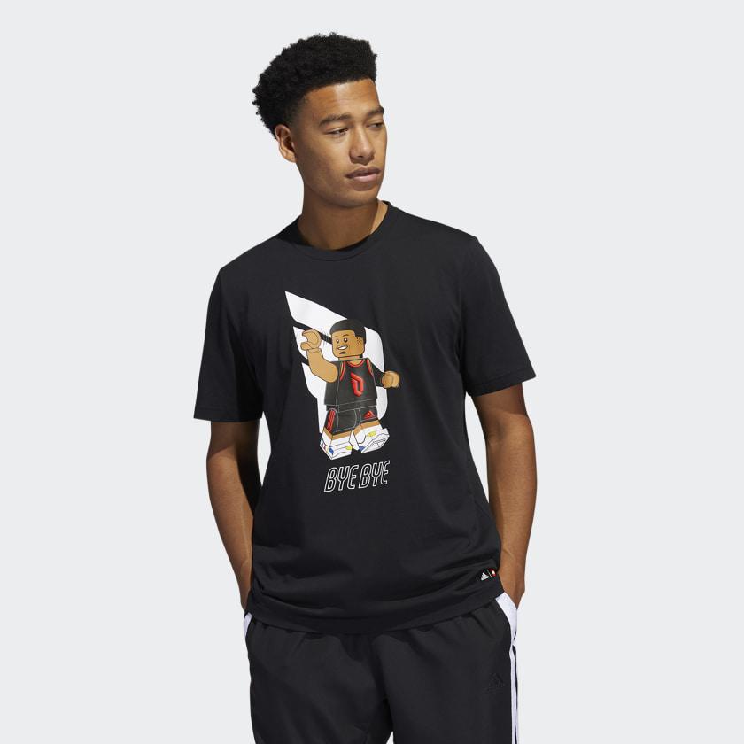 LEGO nba Adidas Damien lilliard shirt 1