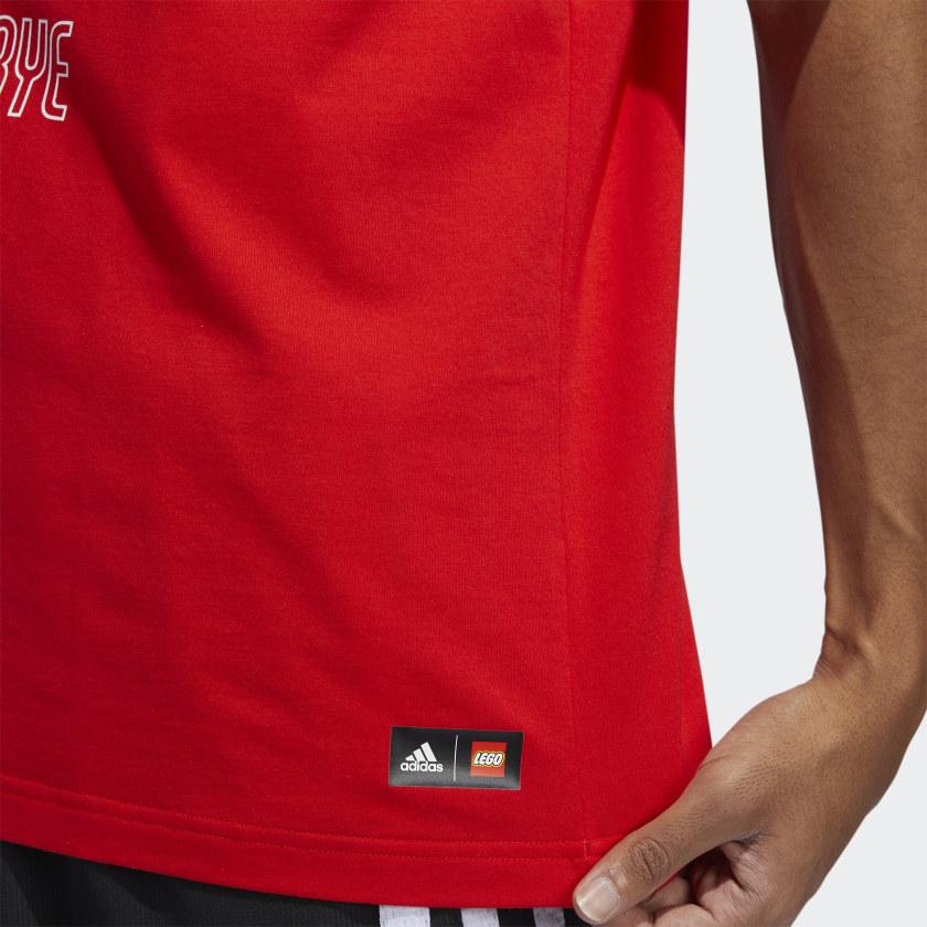 LEGO nba Adidas Damien lilliard shirt 11