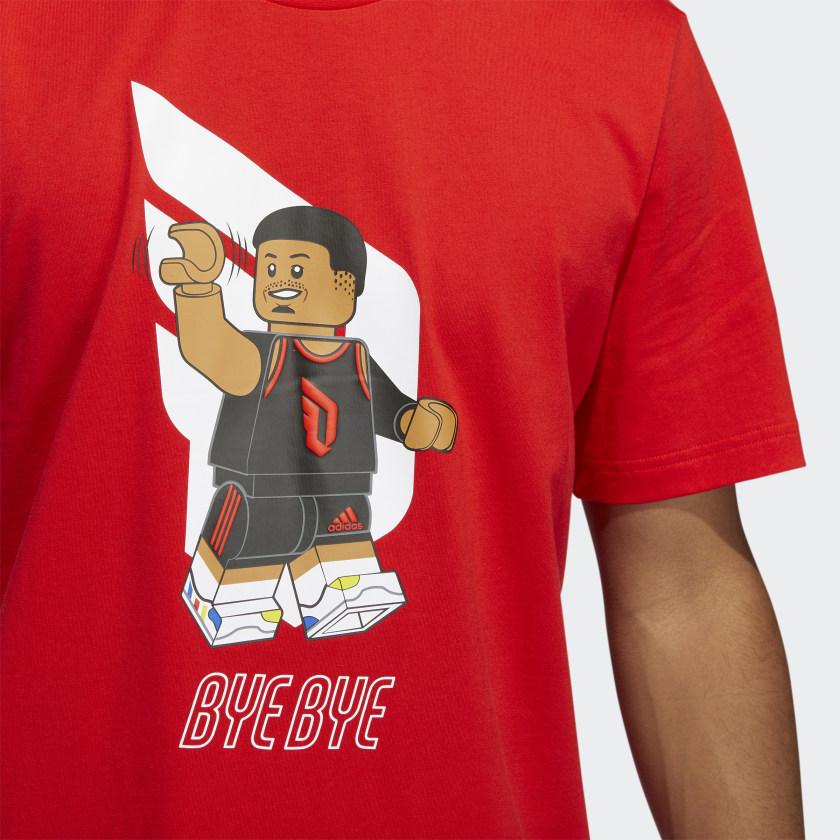 LEGO nba Adidas Damien lilliard shirt 12