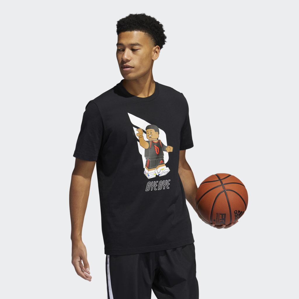 LEGO nba Adidas Damien lilliard shirt 3