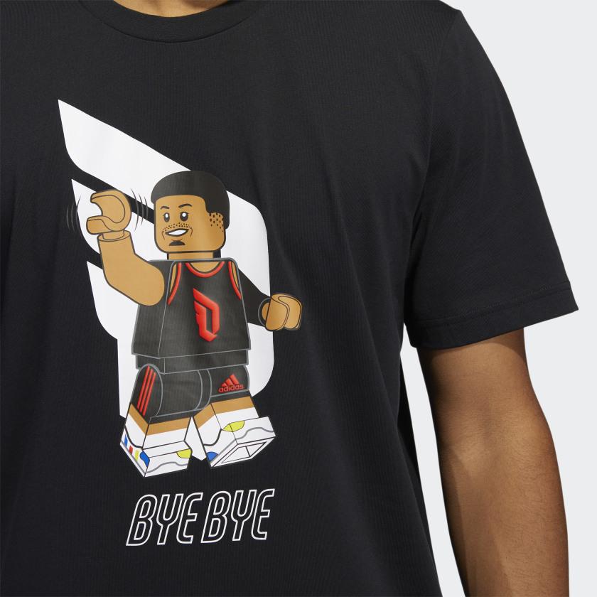 LEGO nba Adidas Damien lilliard shirt 5