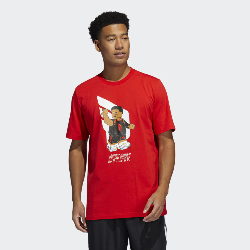 LEGO nba Adidas Damien lilliard shirt 7