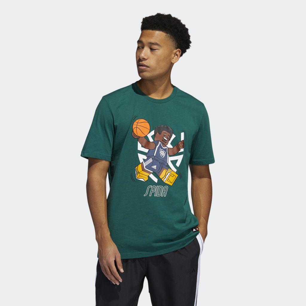 LEGO nba Adidas Donovan Mitchell shirt 1
