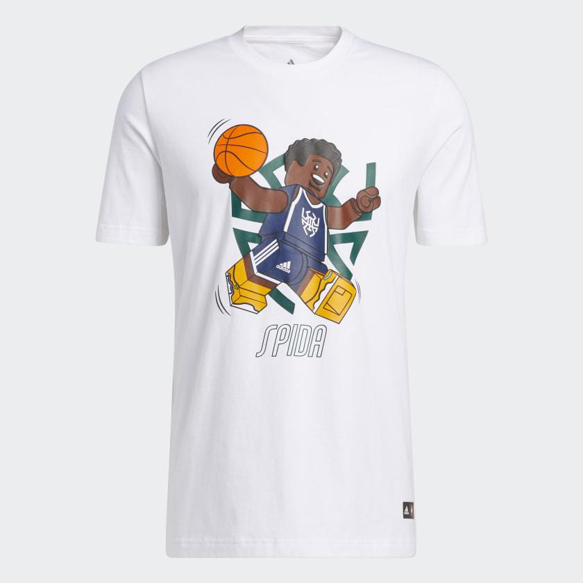 LEGO nba Adidas Donovan Mitchell shirt 11
