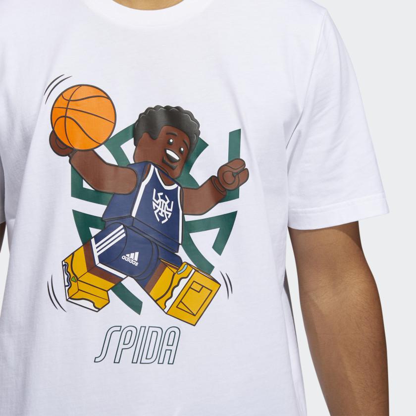 LEGO nba Adidas Donovan Mitchell shirt 12
