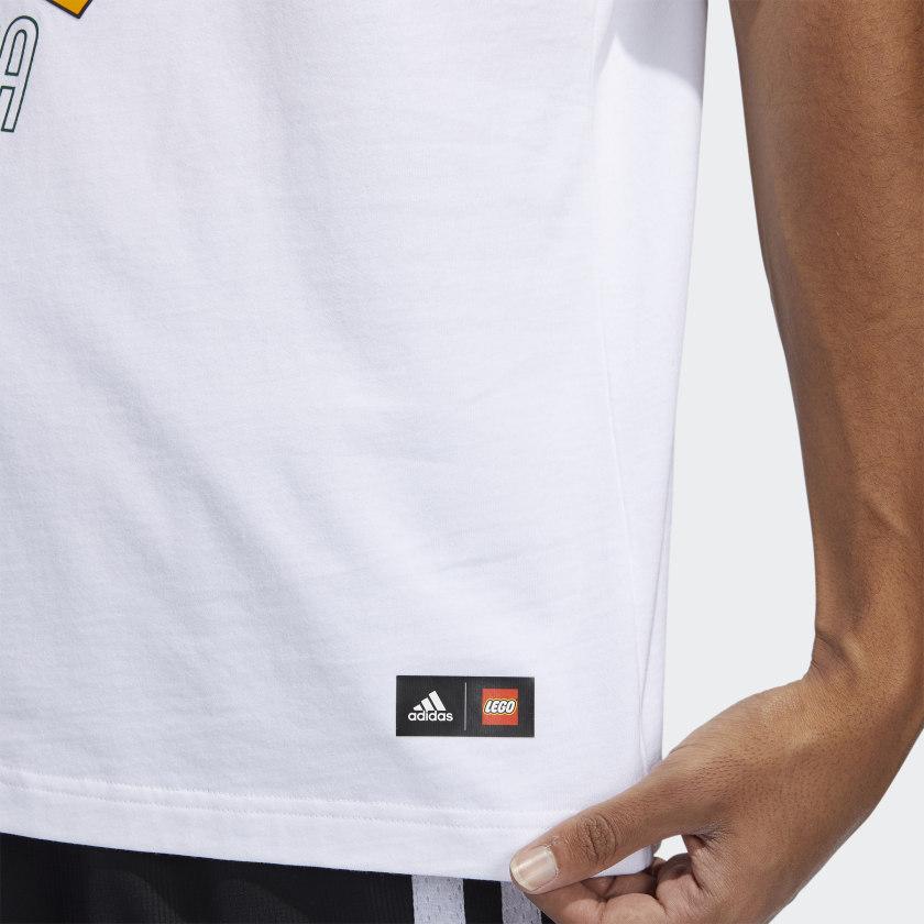 LEGO nba Adidas Donovan Mitchell shirt 13