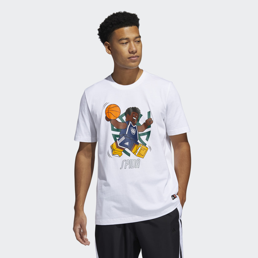 LEGO nba Adidas Donovan Mitchell shirt 8