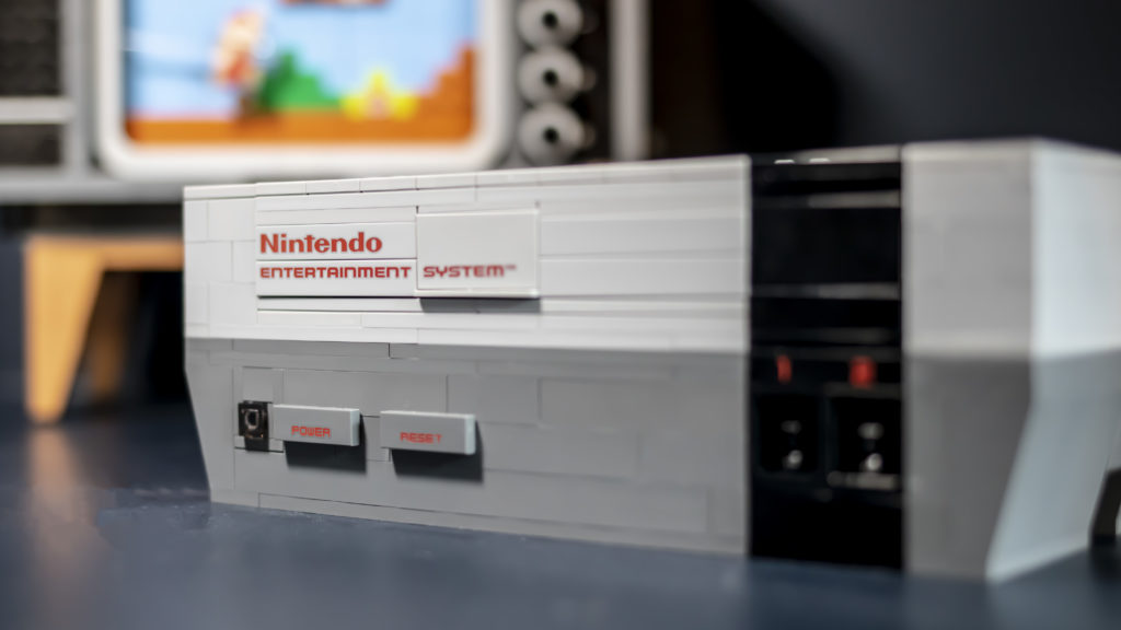 LEGO Nes Console Power Switch