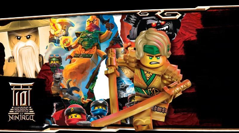LEGO Ninjago Decade Webpage Featured